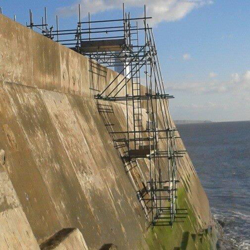 Sea Defence Wall